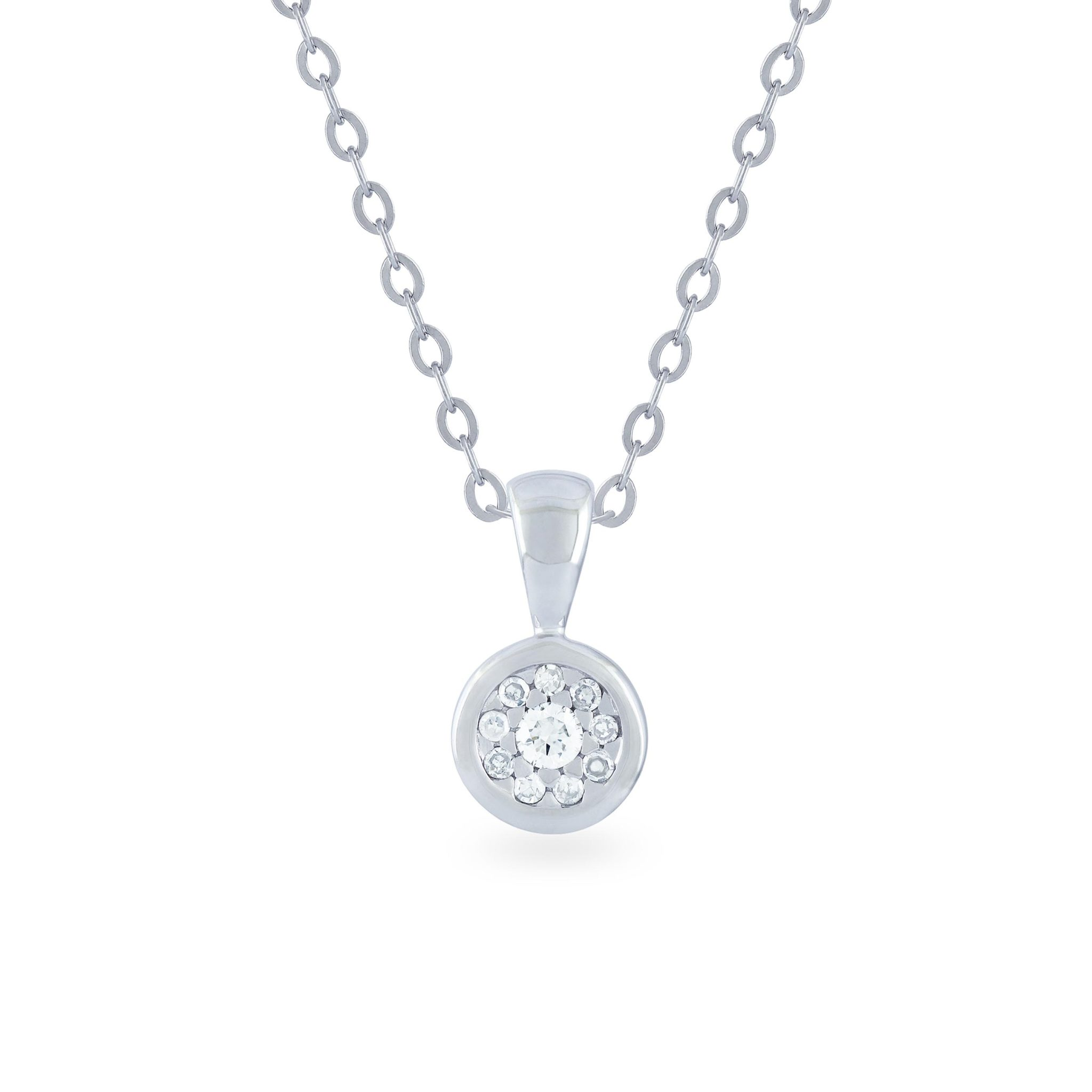 aces sterling products necklace bezel ja gold pendant solitaire jewels silver rose