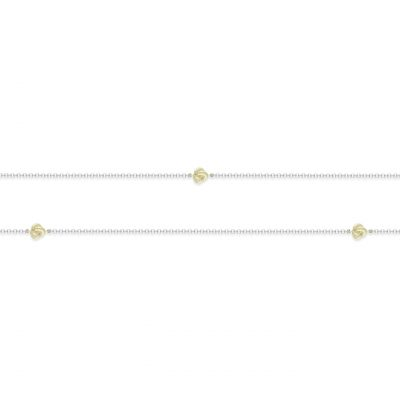 VILMAS collier Shake: Slim collier necklace gold plated 925er sterling silver